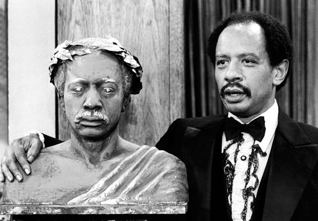 Sherman Hemsley, in The Jeffersons. For the Best Comedy Shows slide show.