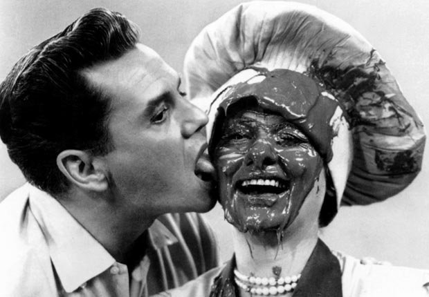 The classic chocolate factory scene from I Love Lucy. For the Best Comedy Shows slide show.