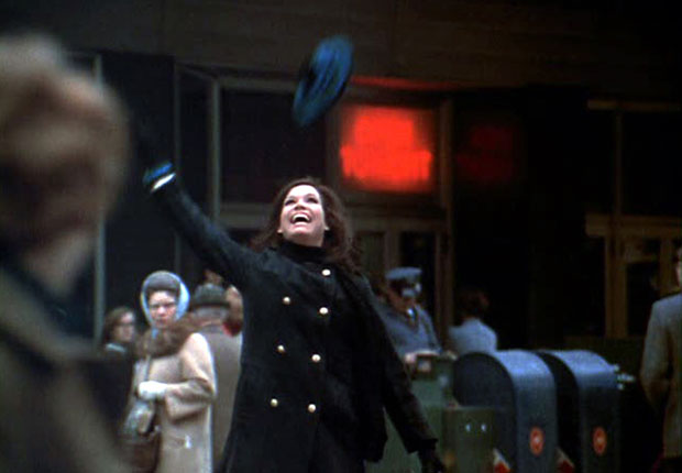 The Mary Tyler Moore Show opening sequence from Season 1 in 1970. For the Best Comedy Shows slide show.