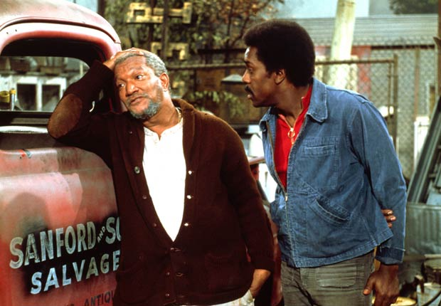 Sanford and Son starred Redd Foxx and Demond Wilson. For the Best Comedy Shows slide show.