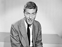 Dick Van Dyke at the CBS Morning Show, 1955.