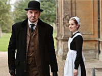 Brendan Coyle as John Bates and Joanne Froggatt as Anna Bates in Downton Abbey