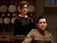 Siobhan Finneran and Rob James-Collier in Downton Abbey