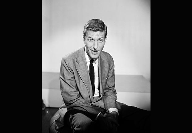 Dick Van Dyke at the CBS Morning Show, 1955.