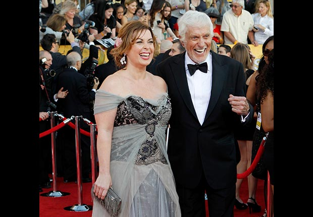 Dick Van Dyke with wife Arlene Silver at the 18th Screen Actors Guild Awards.