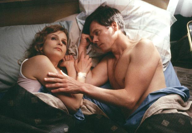 Kyra Sedgwick and Kevin Bacon in The Woodsman