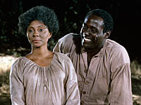 Leslie Uggams and Richard Roundtree in Roots, Pioneers of TV: The Cast of Roots