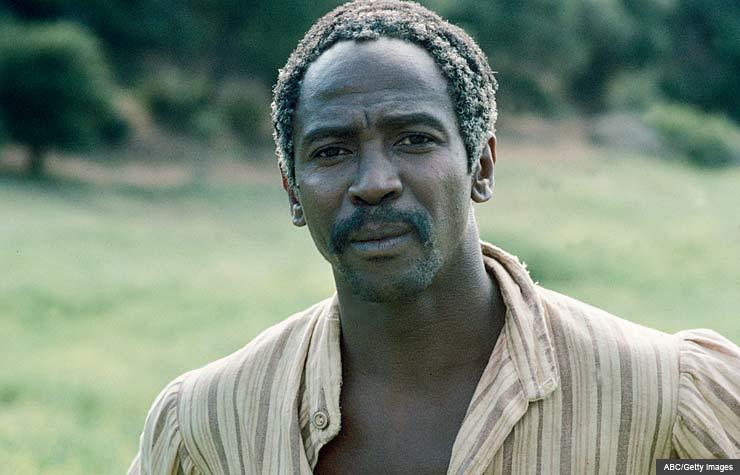 Louis Gossett, Jr., Roots, 1977, Pioneers of TV: The Cast of Roots
