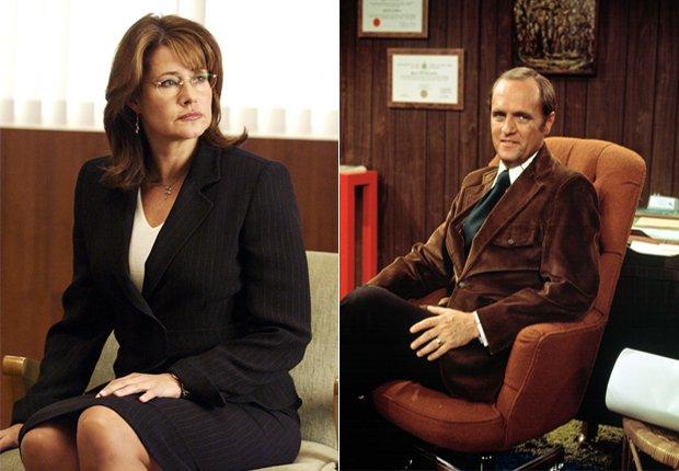 Jennifer Melfi (Lorraine Bracco - izquierda) y Bob Hartley (derecha) - Doctores favoritos de TV.