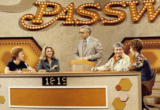 Carol Burnett appears on the game show Password.