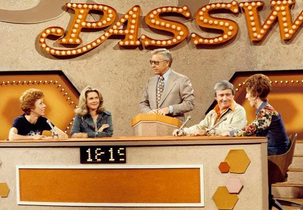 Carol Burnett appears on the game show Password.