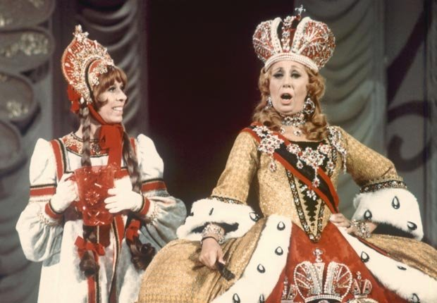 Carol Burnett and Beverly Sills perform Sills and Burnett at the Met, 1976