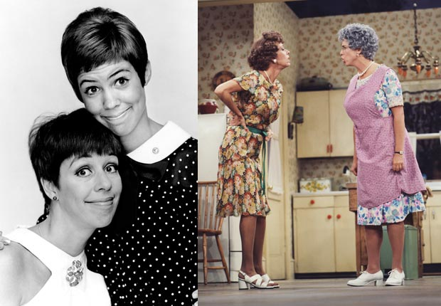 Carol Burnett and Vicki Lawrence friendship