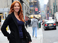 Actress Poppy Montgomery.