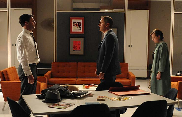 The new Sterling Cooper Draper Pryce offices
