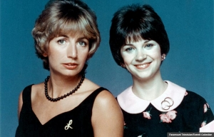Penny Marshall and Cindy Williams in Laverne and Shirley