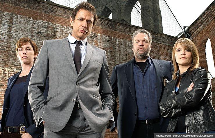 Law & Order: Criminal Intent stars Julianne Nicholson, Jeff Goldblum, Vincent D'Onofrio and Kathryn Erbe