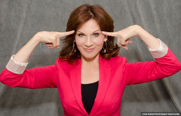 Actress Marilu Henner points to her head, Marilu Henner's Unforgettable Memory