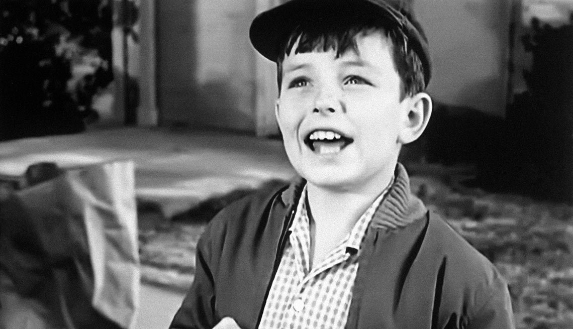 Jerry Mathers in Leave it to Beaver, Child star