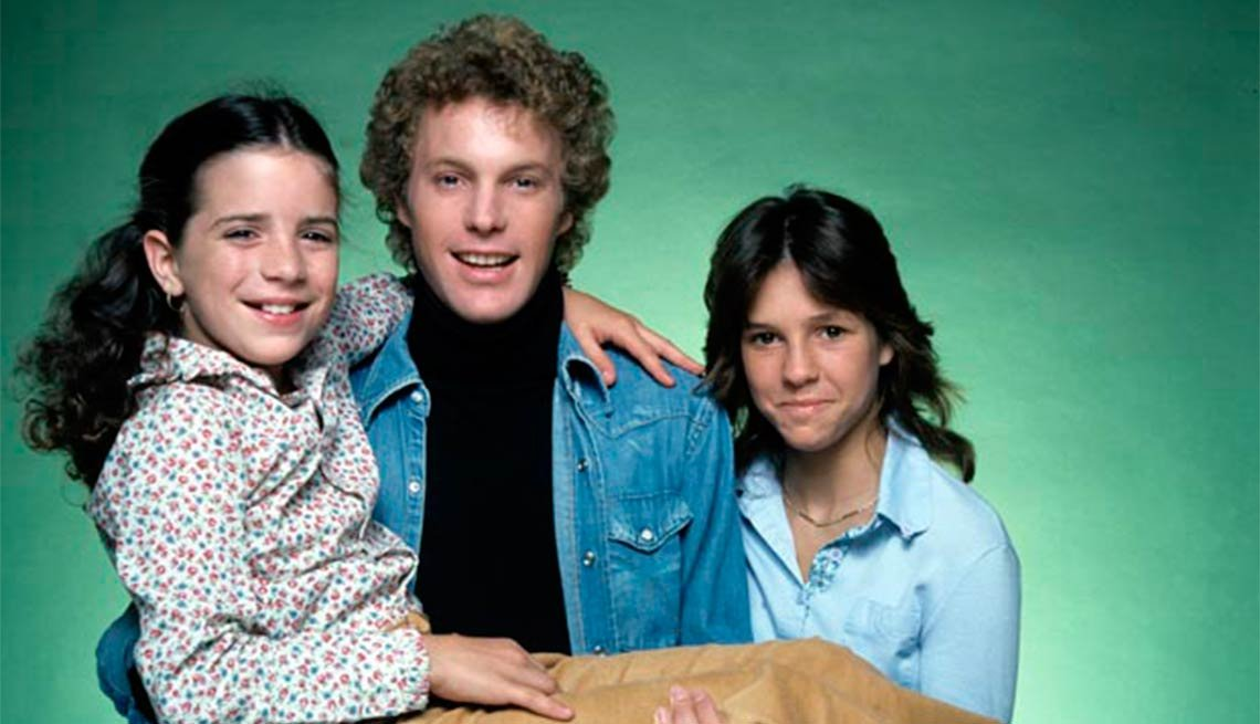Child actress Quinn Cummings with Gary Frank and Kristy McNichol,Child actress Quinn Cummings with Gary Frank and Kristy McNichol