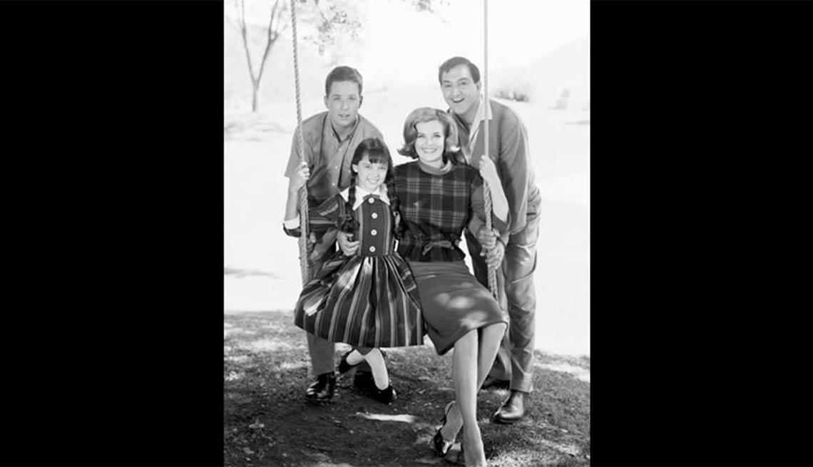 Rusty Hamer and Angela Cartwright with Danny Thomas and Marjorie Lord in the Danny Thomas Show, Child stars