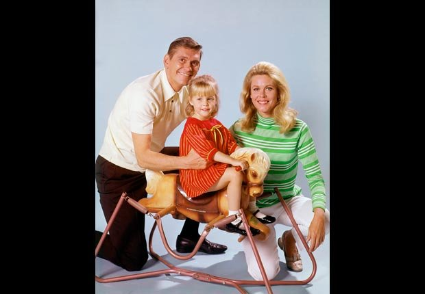 Child actress Erin Murphy with Dick York and Elizabeth Montgomery in Bewitched, Child stars (ABC Photo Archives/ABC/Getty Images)