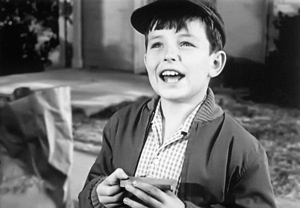 Jerry Mathers in Leave it to Beaver, Child stars (Everett Collection)