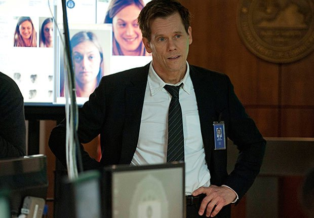 Kevin Bacon in The Following.