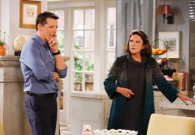 Sean Hayes and Linda Lavin in Sean Saves the World