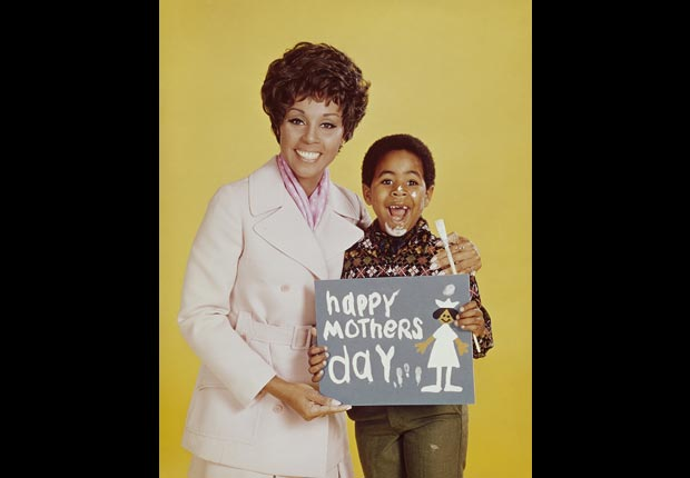 Child actor Marc Copage with Diahann Carol in Julia, Child stars (NBCU Photo Bank/Getty Images)