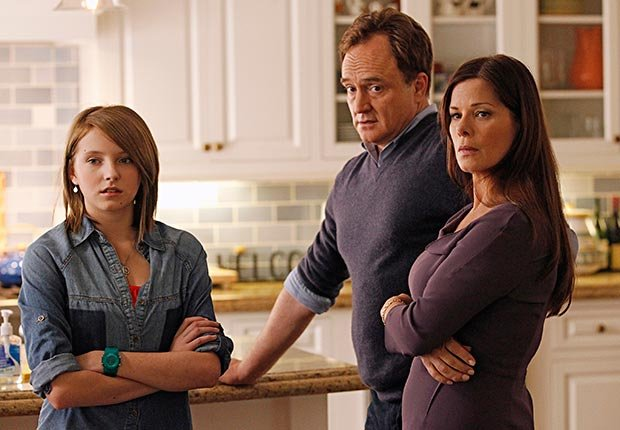 Marcia Gay Harden, Bradley Whitford and Gianna LePera in Trophy Wife.