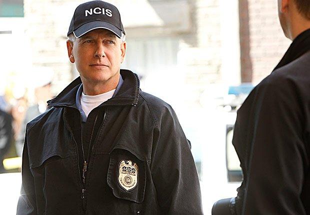 Mark Harmon in NCIS.