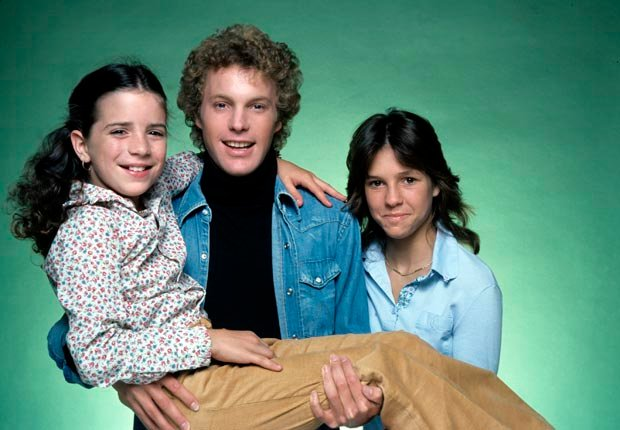 Child actress Quinn Cummings with Gary Frank and Kristy McNichol in Family, Child star (ABC Photo Archives/ABC/Getty Images)