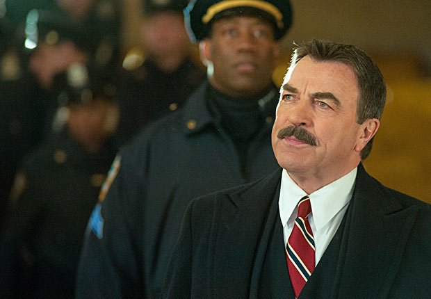 Tom Selleck in Blue Bloods.
