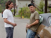 Christian Bale and Casey Affleck in Out of the Furnace. (Courtesy Kerry Hayes/Relativity Media)