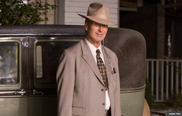 William Hurt in Bonnie & Clyde (Joseph Viles)