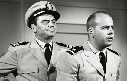 Tim Conway played Parker with Ernest Borgnine in the TV show, McHale's Navy.