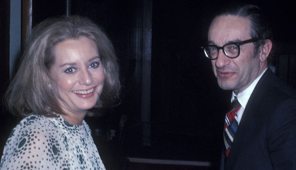 Barbara Walters Out At Night With Alan Greenspan, Barbara Walters Slideshow