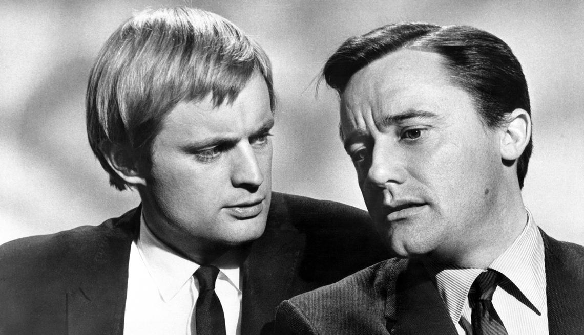 David McCallum, Robert Vaughn, The Man from U.N.C.L.E., Boomer TV Shows 1964 debut