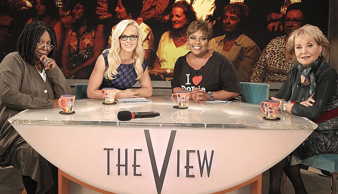 The View, Television Show, Whoopi Goldberg, Jennifer McCarthy, Sherri Shepherd, Barbara Walters Slideshow