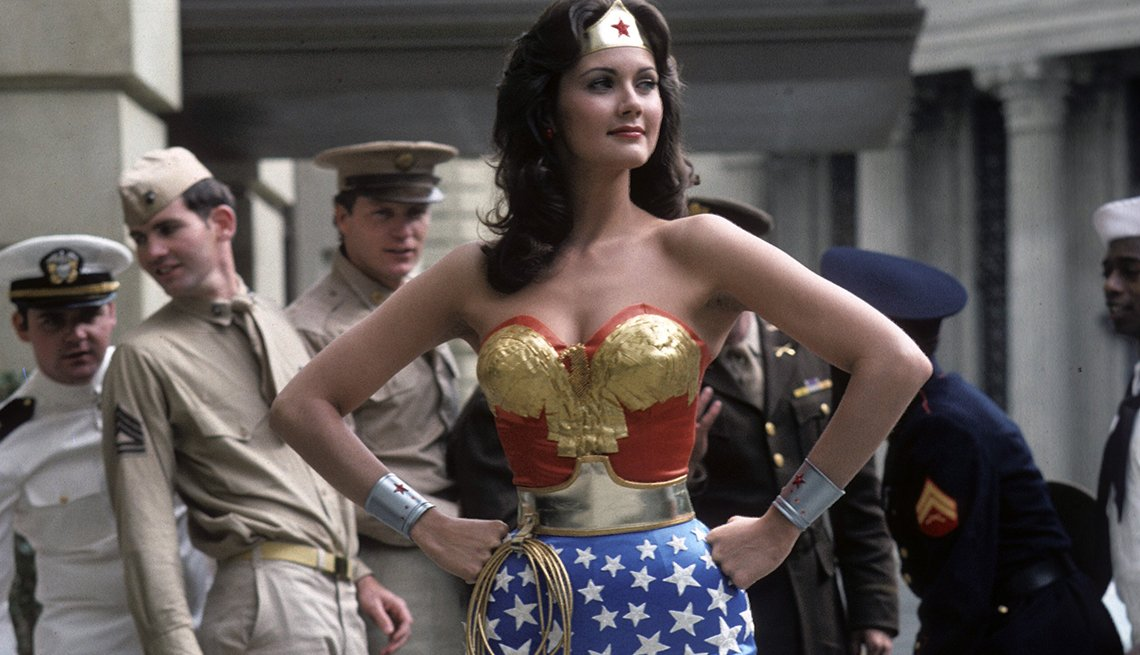 Lynda Carter, Wonder Woman, Women Who Changed TV