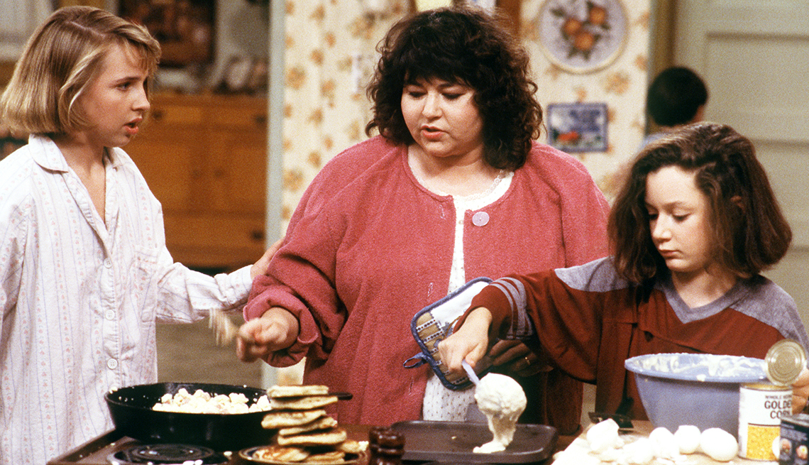 Roseanne Barr, Women Who Changed TV, Lecy Goranson, Roseanne, Sara Gilbert