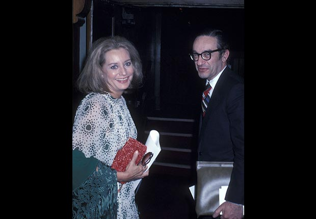 Walters dated economist Alan Greenspan for a period during the '70s. (Ron Galella/WireImage/Getty Images)
