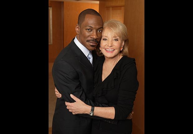 Eddie Murphy was just one of the stars on Barbara Walters' Oscar Night Special (ABC via Getty Images)