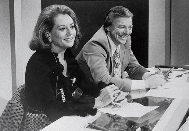 NBC News enlisted Walters and Jim Hartz, cohosts of Today, to handle national election coverage. ( Bettmann/CORBIS)