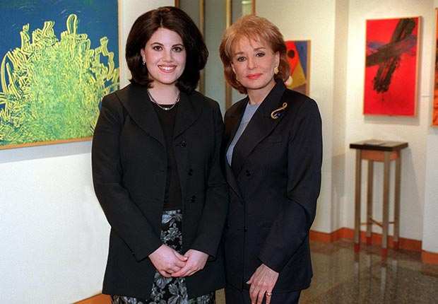 Walters' interview with Monica Lewinsky on 20/20 was watched by 70 million people. (UPI/Newscom)