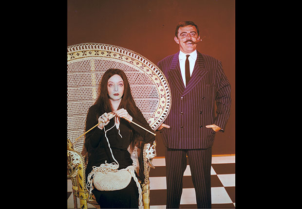 Addams Family. Jeopardy Anniversary Game Show
