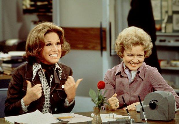 Mary Tyler Moore y Betty White, Las mujeres que cambiaron la televisión