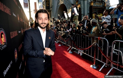 Interview with Diego Luna, director of Cesar Chavez. (Kevin Winter/Getty Images)