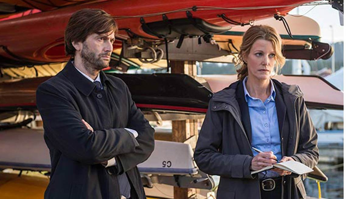 Anna Gunn, David Tennant, Gracepoint, Fall 2014 TV for Grownups